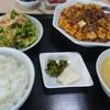チャイニーズダイニング四川 - 料理写真:麻婆豆腐定食