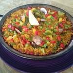 アランダルース - 料理写真:バレンシア風パエリア