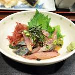 味の正福 - 胡麻さば定食(1200円・外税)