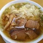 支那ソバ へいきち - まのけ(ワンタンメン)従来麺900円