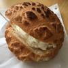 ヨコハマ メロンパン - 料理写真:シナモンメロンパンアイス410円