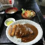 ひの食堂 - 料理写真:カツカレー