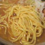 らーめん 木尾田 - 麺(細麺)