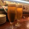 ルージュエブランコウハク - ドリンク写真:生ビールはエビスで¥370