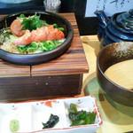 62485438 - 「紀州梅と大葉のお茶漬け」(680円)