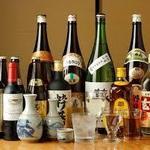 栄寿し - お酒各種