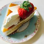 62489161 - 苺のショートケーキ