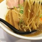 麺人 ばろむ庵 - 1702 ばろむ庵 新中華そば(大盛)@750円 麺は自家製 全粒粉