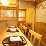 赤坂 詠月 - カウンター席