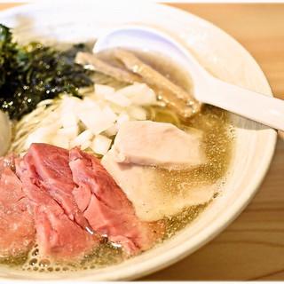 麺屋 さくら井 - 料理写真:特製煮干らぁ麺 1000円 ビターな旨味に溢れたニボニボラーメン♪