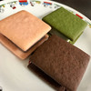 ブーランジェリー カワ - 料理写真:生チョコサンド(抹茶・ベリー・スイート)
