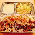 レカ - ビリヤニ(ライタとサラダのセット)