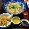 むぎの里 - 料理写真:お昼のちゃんぽんうどんセット(907円)