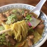 ラーメンすうちゃん - 麺UP(太麺)