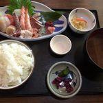 平の食堂 - 刺身定食<竹>平の食堂2回目。食彩品館.jp撮影
