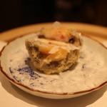 沼田 - 海老すり身射込みマッシュルーム 淡雪塩