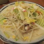 ラーメン 西海 - ちゃんぽん野菜2倍麺2玉(870円)