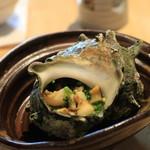 鎌倉おでん波平 -  サザエのつぼ焼き