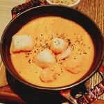 (ココ)ハレノヒ  - トマトスープ+GREENの具