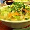 北海屋 - 料理写真:1702 北海屋 ちゃんぽん@710円 野菜がこんもり