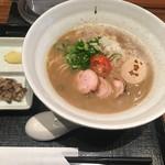麺や いま村 - 鶏煮干しらぁめん 醤油 +味玉
