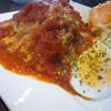 Cafe 純菓 - 料理写真:ハンバーグランチ(ハンバーグ)