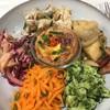 ローズベーカリー - 料理写真:ベジタブルプレート