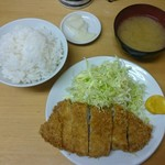 いちかつ - 料理写真:ロースかつ定食