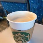 スターバックスコーヒー - ドリンク写真:スターバックスラテ ショート ディカフェ変更 410円
