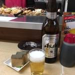 62545017 - 瓶ビールと〜(*'ω.'*)b