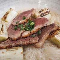 """鴨南蛮 秘密の醤油出汁 / """"KAMO-NANBAN"""" soy sauce soup"""