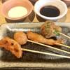 串家物語 - 料理写真:れんこん・海老しんじょ・海老・ブロッコリー