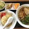 味平 - 料理写真:ラーメン定食  1000円(2017.2.12)