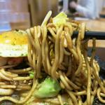 やきそば専門店 ぼんの - モチモチ中太麺が美味しい