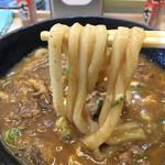 得正 - 料理写真:カレーうどん  にょ〜ん( ´ ▽ ` )ノ