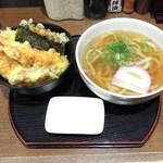 讃岐うどん天兎 - 料理写真:天丼Aセット