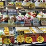 アビニヨン - ケーキがズラ~!