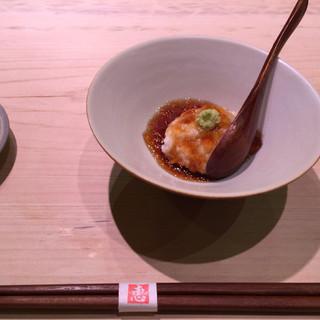鮨 恵三 - 料理写真:まぐろやまかけ