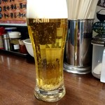 蒲田いっ家 - 生ビール