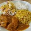 ザイカ・カレーハウス - 料理写真:チキンカレー
