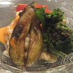 ぺるどま。 - 野菜と麦のサラダ