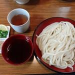 白笹うどん 多奈加 - 白笹ざる 大盛 550円
