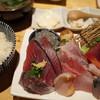 すし・魚処 のへそ  - 料理写真:特上刺身定食