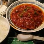 62609004 - 牛肉四川煮定食850円