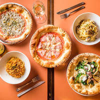 PIZZA & OYSTER & BAR DROP -