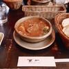 筆や - 料理写真:ビーフシチュー(パン、サラダ付き)