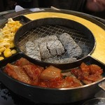 立喰☆焼肉 瑞園 - ケランチム キムチ コーンチーズ