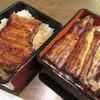 川豊 - 料理写真:左側は、嫁さんの「うな重」