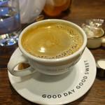 MARUFUJI CAFE - HOTコーヒー