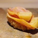 菊鮨 - 赤貝ひも